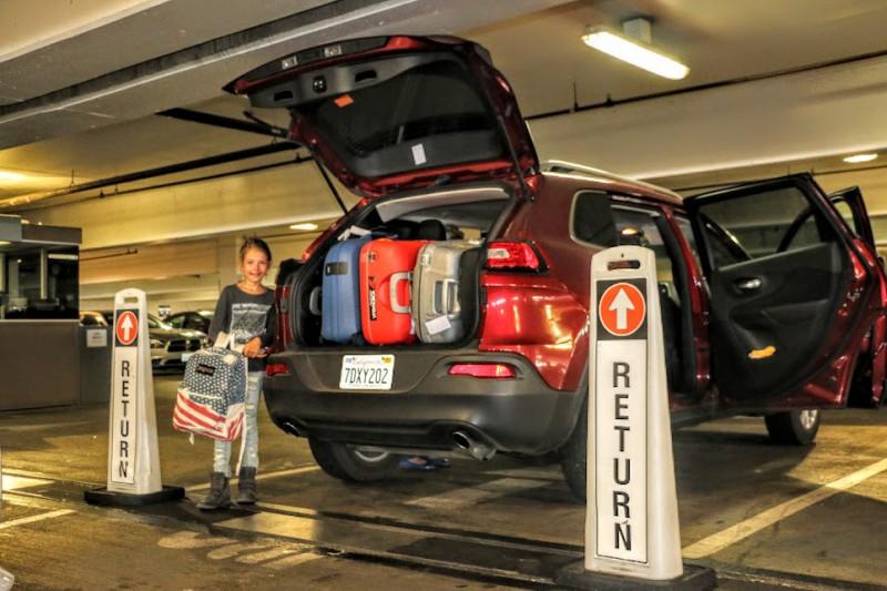 Avis Car Rental Return