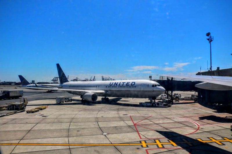 United Airlines - vluchten naar Amerika