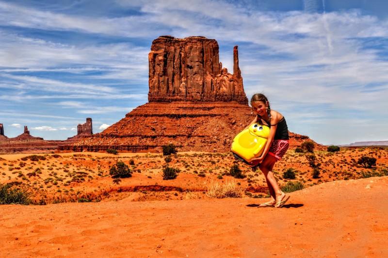 handbagage Amerika