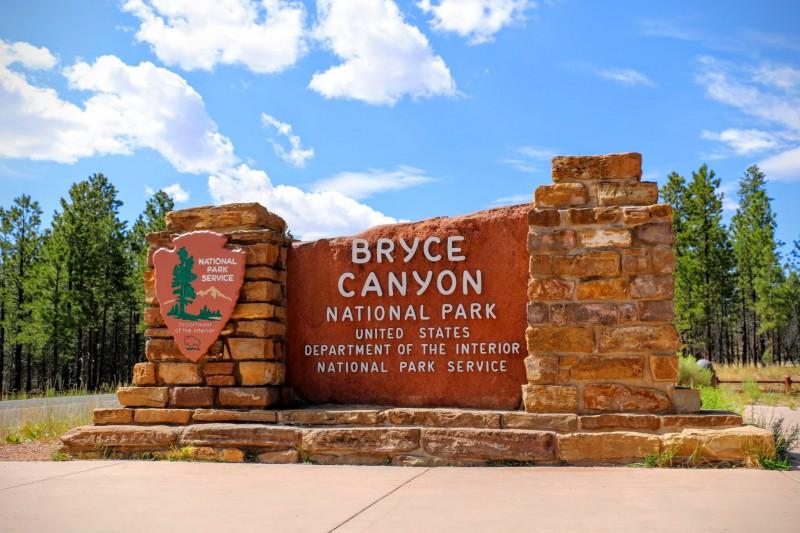 Bryce Canyon National Park ingang