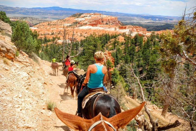 Paardrijden in Bryce Canyon National Park