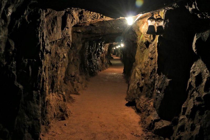 Goudmijn tunnel