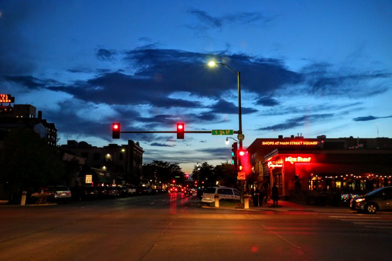 Rapid City avond