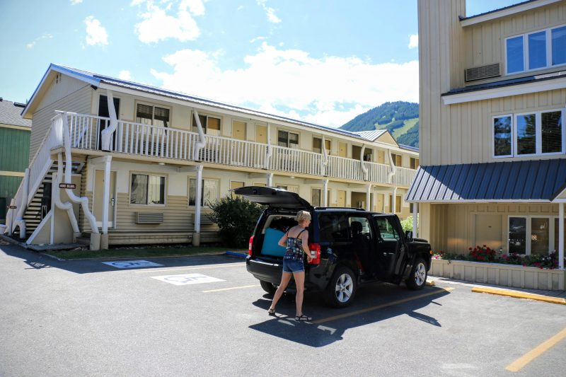 Jackson Hole parking