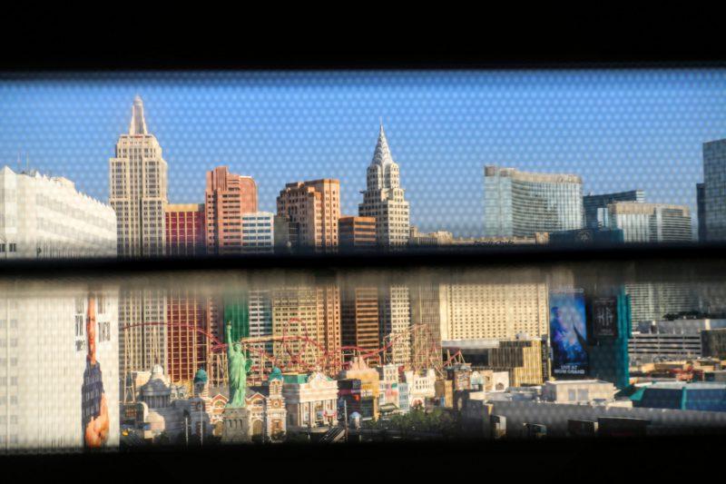 Uitzicht Tropicana Las Vegas