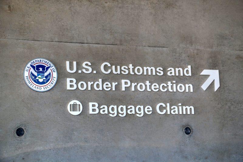 Bagage claim USA