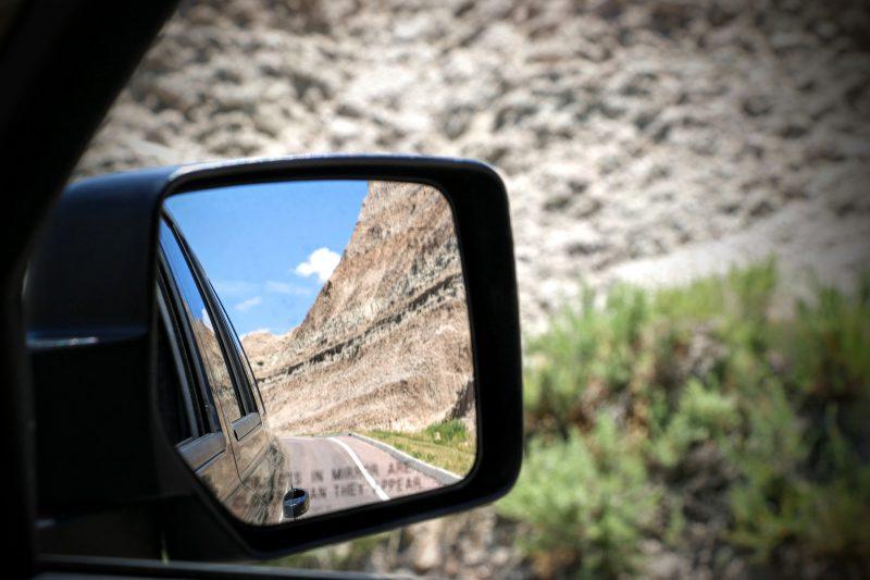 Door de Badlands rijden