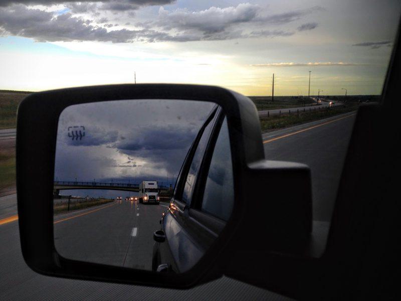 Route van Rocky Mountain naar Cheyenne via Interstate I 25