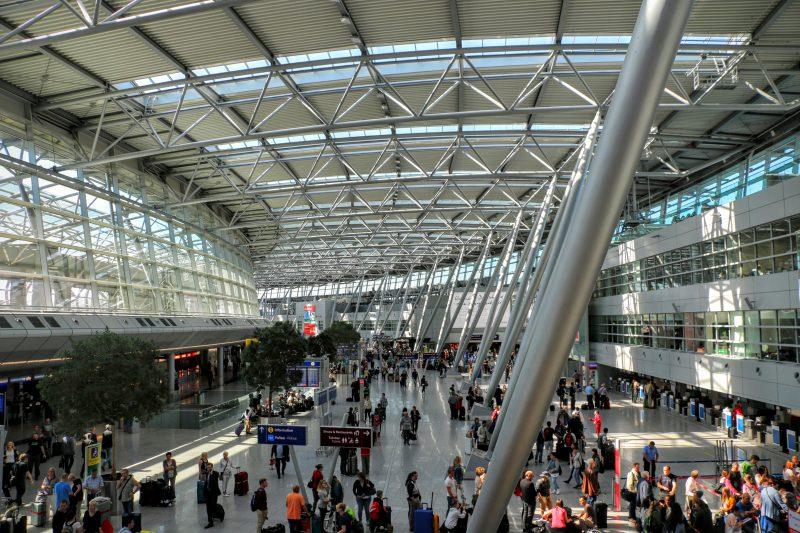Luchthaven Dusseldorf