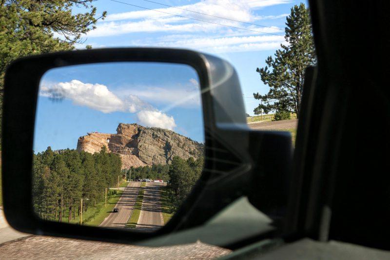 Rit van Crazy Horse naar Mount Rushmore