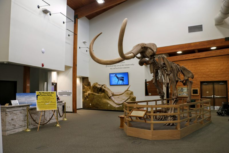 The Mammoth Site entrance