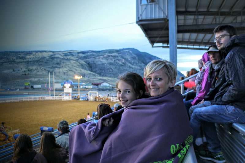 Rodeo show in Cody