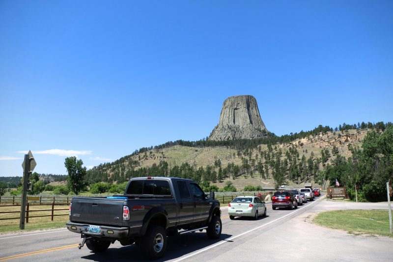 Ingang Devils Tower National Monument