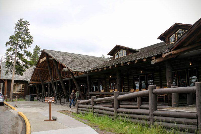 Lake Lodge Yellowstone Lake