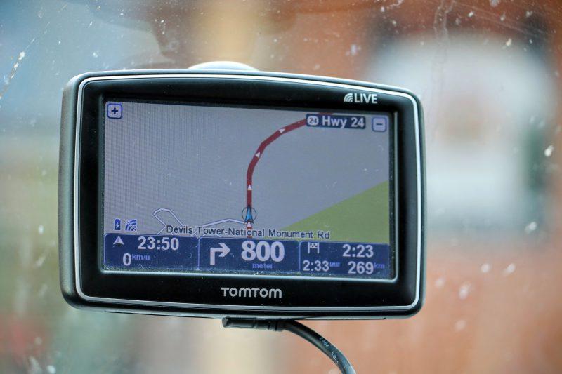Onze route van Devils Tower naar Sheridan