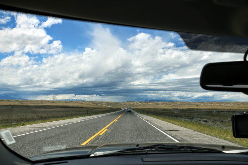 Route naar Cody