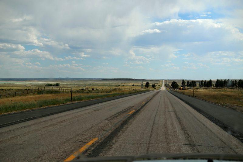 Route naar Sheridan - van Denver naar Yellowstone