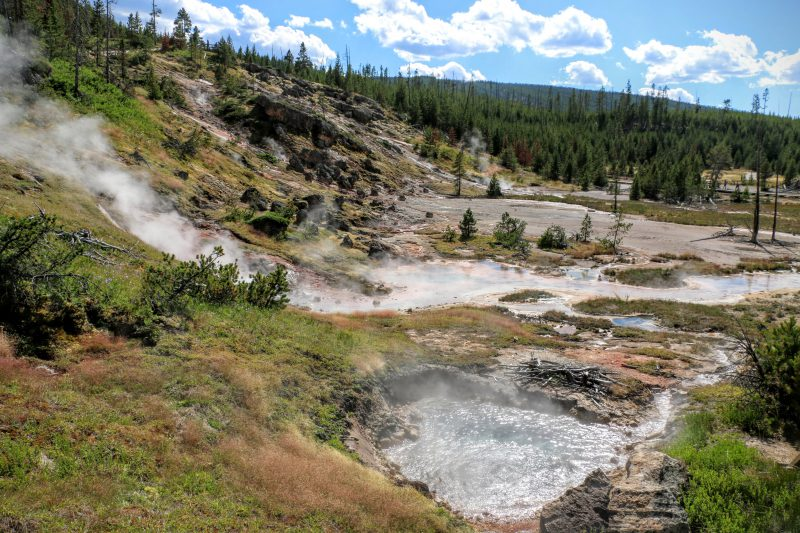 Artist Paintpots Yellowstone