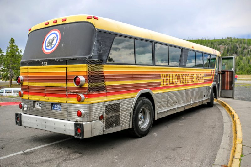 Bus Yellowstone National Park