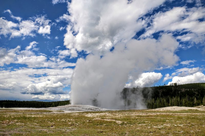 Old Faithful bezoeken