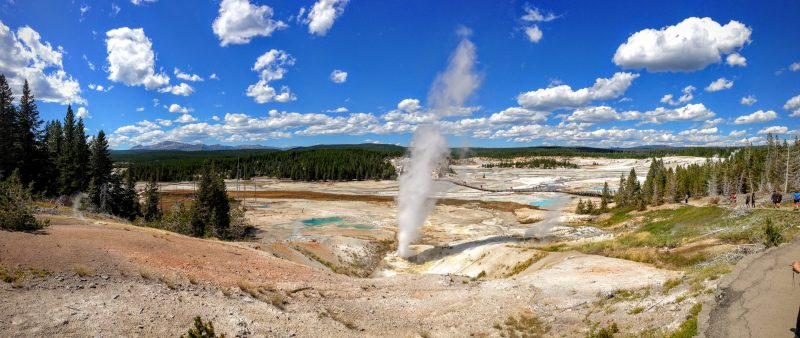 Reisverslag Yellowstone