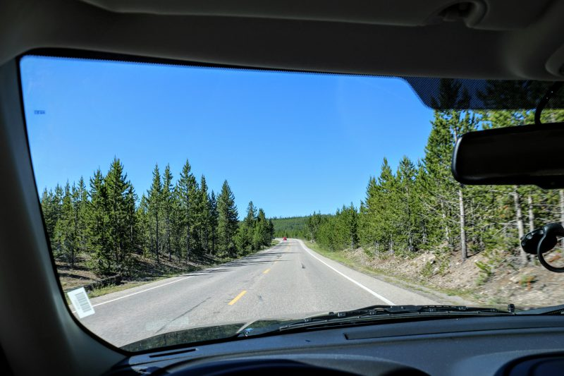 route-naar-yellowstone-np