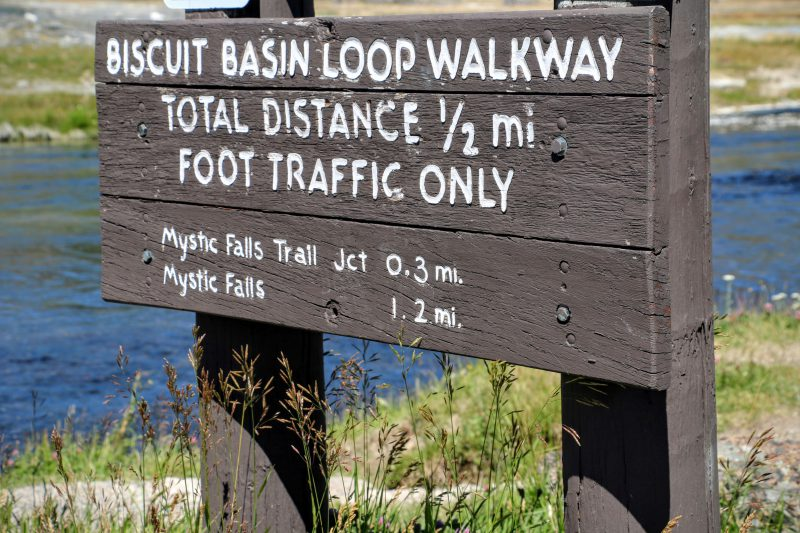 Biscuit Basin Loop Walkway