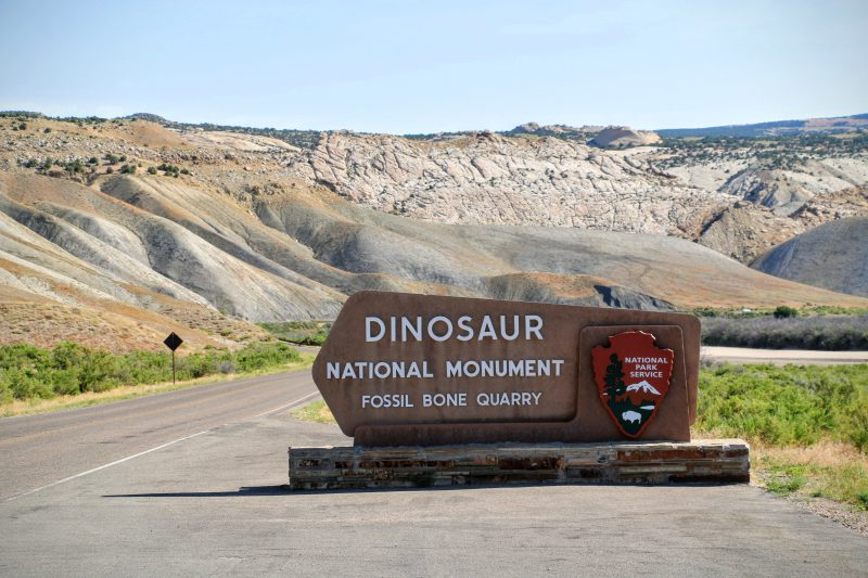 Reisverslag Dinosaur National Monument