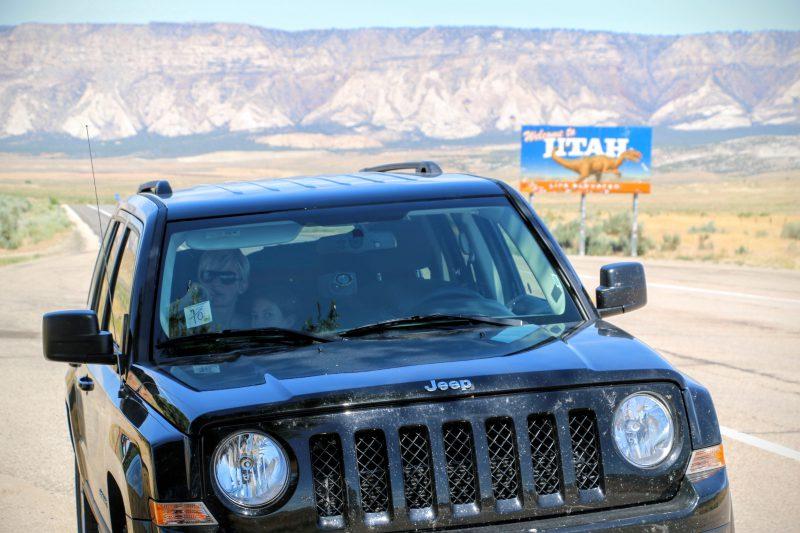 Van Vernal naar Moab