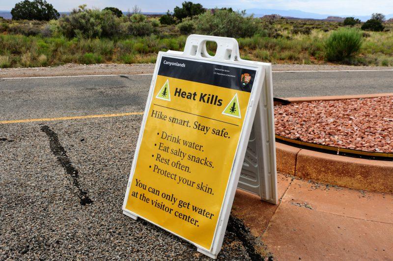 Heat Kills - waarschuwing