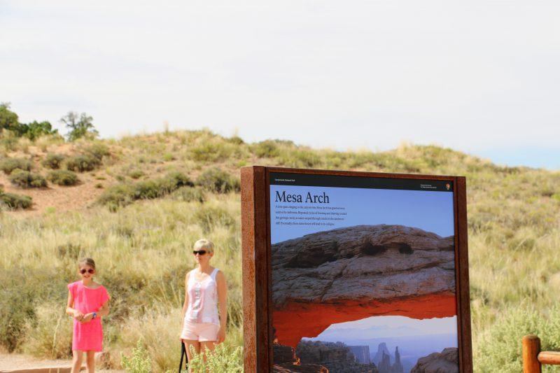 Mesa Arch wandeling