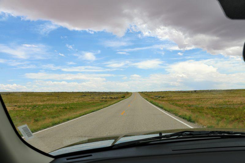 Onderweg naar Dead Horse Point State Park