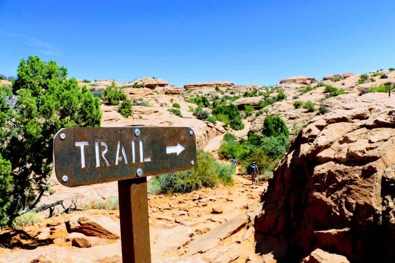 Trail Delicate Arch