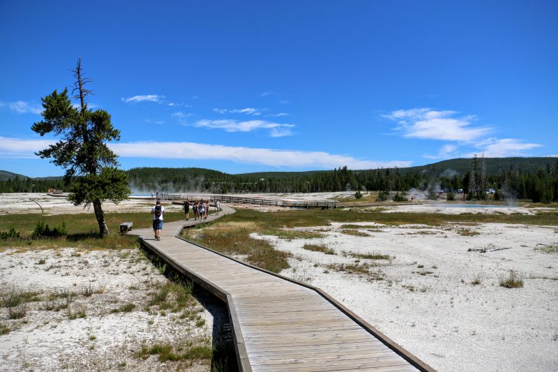 Yellowstone wandelpad