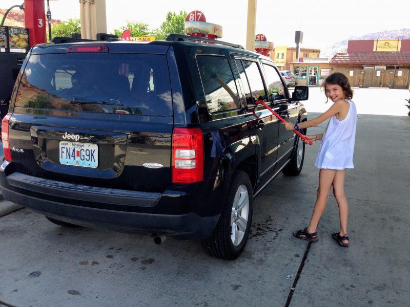 Moab benzinestation