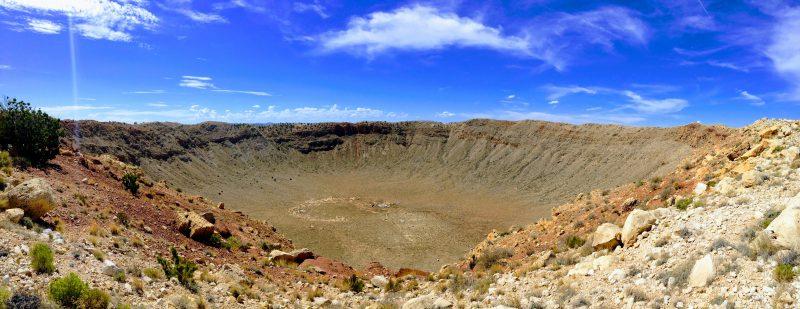 Reisverslag Meteor Crater en Walnut Canyon