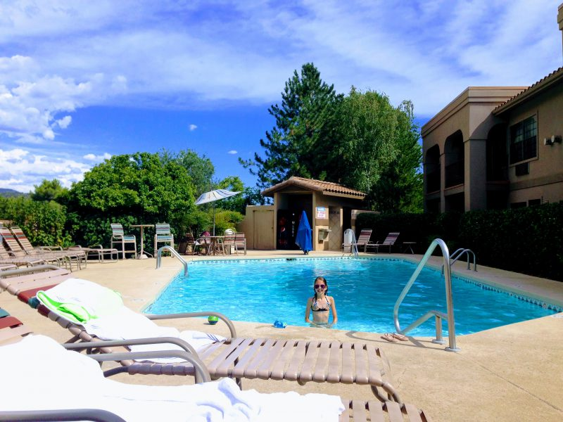 Sedona Real Inn and Suites pool