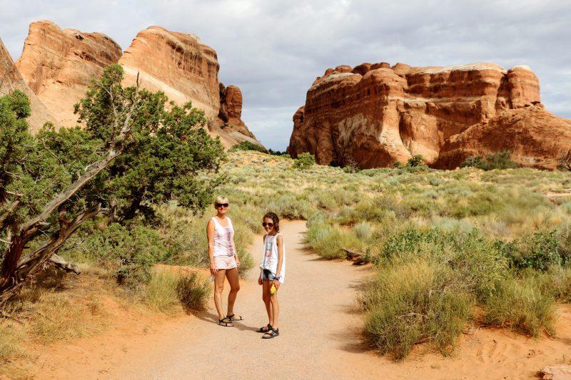 Wandelen in Arches National Park