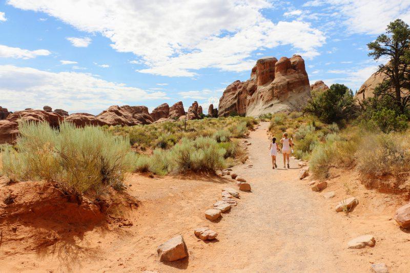 Wandeling landscape arch