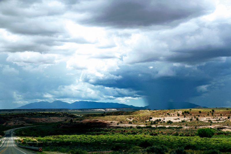 Route van Moab naar Cortez