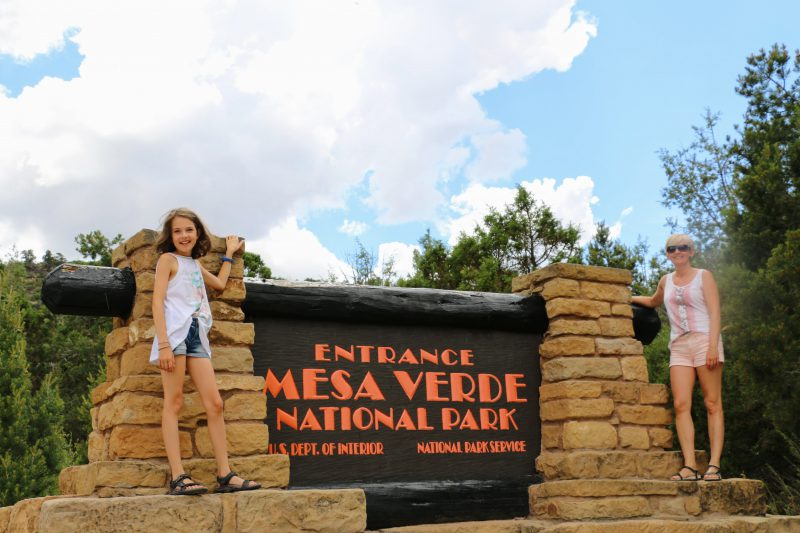Ingang Mesa Verde National Park