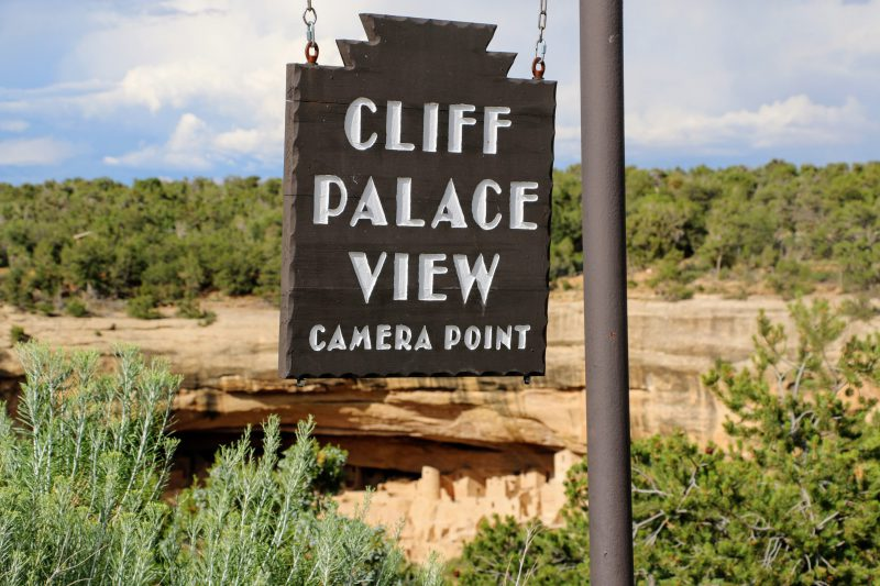 Cliff Palace View Camera Point