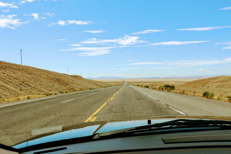 Route van Mesa Verde naar Petrified Forest