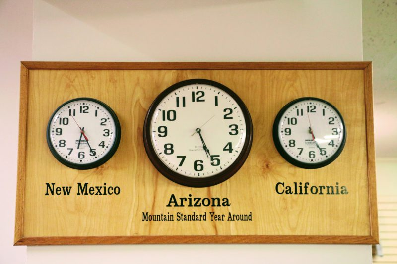 Tijdsverschil Amerikaanse staten