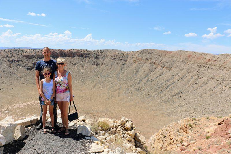 Meteoriet krater in Amerika bezoeken
