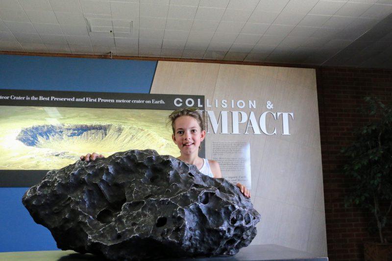 Een echte meteoriet