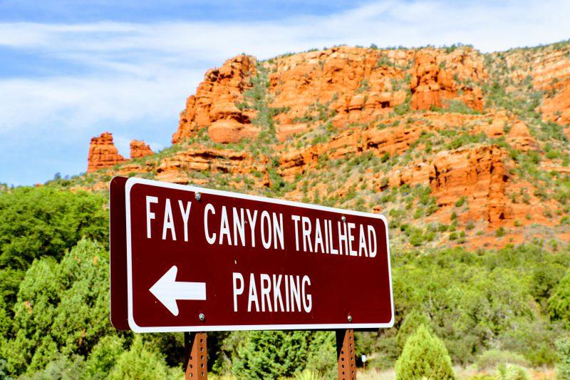 Fay Canyon Trailhead Parking