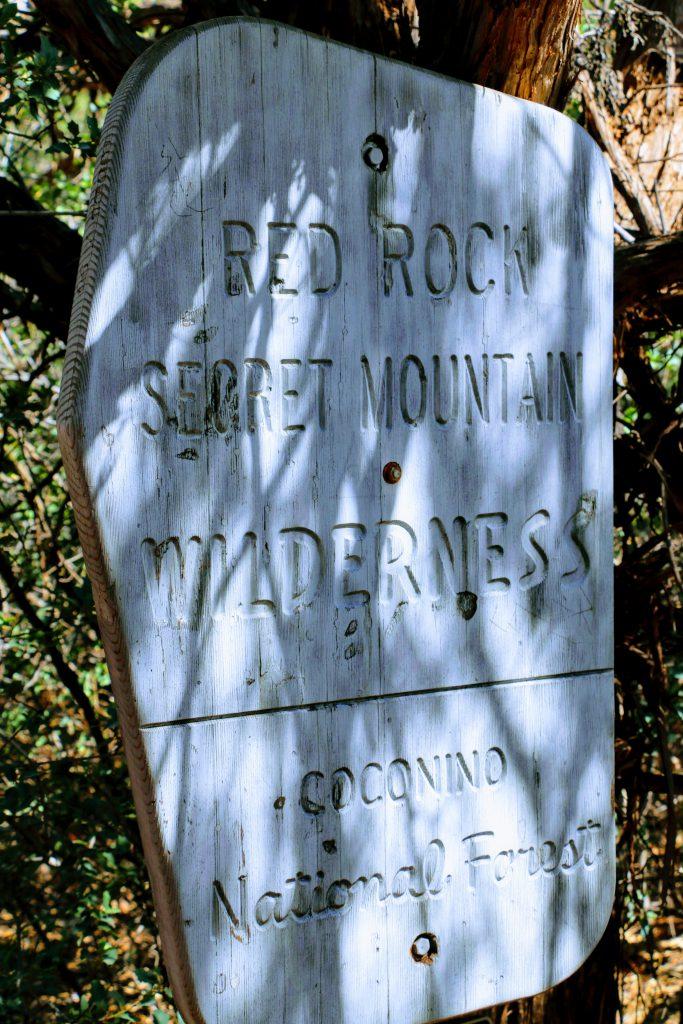 Red Rock Secret Mountain