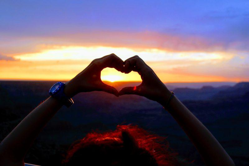 Beste locatie zonsondergang Grand Canyon