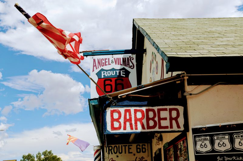 Barber Route 66 Seligman